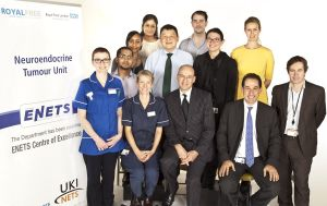 The NET team at the Royal Free Hospital