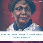 Royal Free London October 2017 Black History Month Celebration