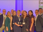 Chase Farm Hospital scores double win at prestigious building industry awards ceremony