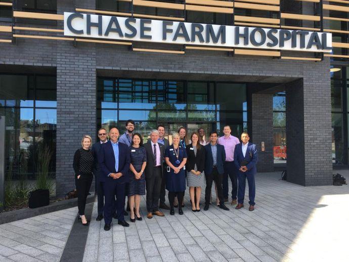 Chase Farm Hospital joins elite group of digital hospitals