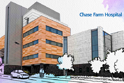 Looking back at the redevelopment of Chase Farm Hospital