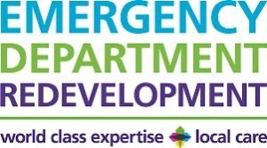 Emergency Department redevelopment logo