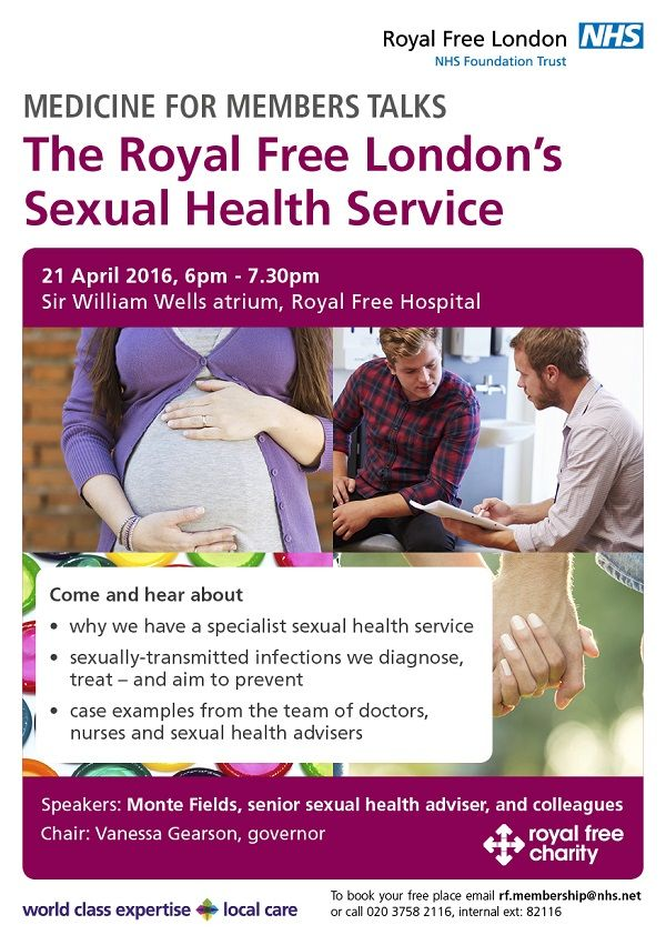 Medicine for members event - The Royal Free London's sexual health service