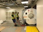Work restarting for state-of-the-art imaging upgrade