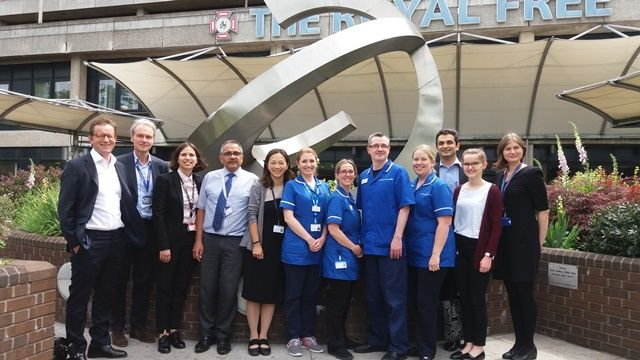 Royal Free Hospital Leads The Way For Kidney Cancer Care With New Research Project News News Media The Royal Free
