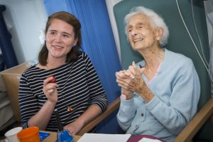 Guildhall students and dementia patients