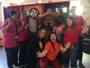 The Chickenshed performers and our play specialists