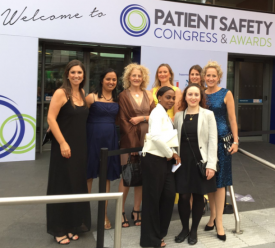 The 24/7 falls team at the Patient Safety Awards