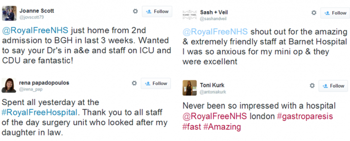 Feedback of the week - Twitter - 3 April 2015