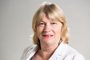 Fiona Jackson, hospital director, Chase Farm Hospital