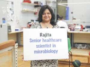 Rajita, senior healthcare scientist