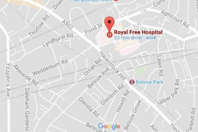 How to get to the Royal Free Hospital