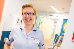 Nurse on Larch ward