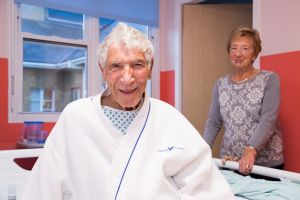 Patient on Larch ward