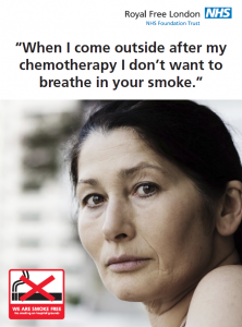 Breathe in smoke poster